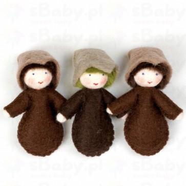 Lalka - Dzieci ziarna - 3szt., 5,5cm, 3+, Ambrosius