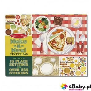 Naklejki - Przygotuj jedzenie, 3+, Melissa&Doug