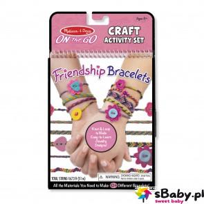 Bransoletki przyjaźni - zestaw do wyplatania, 8+, Melissa&Doug