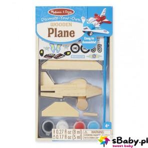 Pomaluj samolot, 4-8 lat, Melissa&Doug