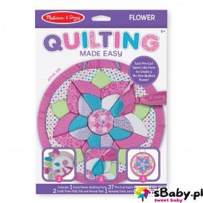 Materiałowa wyszywanka - Kwiatek, 6+, Melissa&Doug